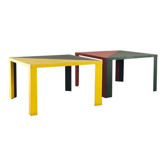 Massimo Morozzi - Cassina Tangram Table Morozzi Cassina For Sale