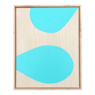 """""""Tiffany Blue"""" Original Modern Painting by Tony Curry For Sale"""