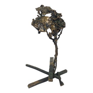Ben Kupferman Bronze Abstract Sculpture For Sale