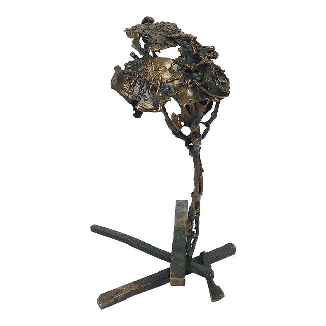 Ben Kupferman Bronze Abstract Sculpture For Sale