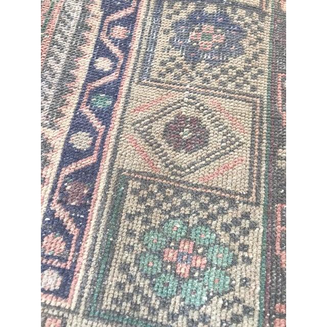 Muted Pastel Turkish Oushak Rug For Sale - Image 4 of 8