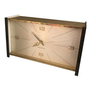 General Electric Co. Mid Century Electric Clock For Sale