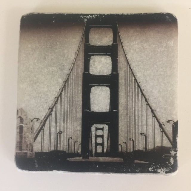 World Cities Coaster, Set of 4 For Sale In Chicago - Image 6 of 9