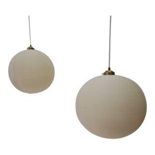 Pair of Rotoflex Pendant Lights by Heifetz For Sale