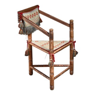Swedish Monk Chair, Circa 1900 For Sale