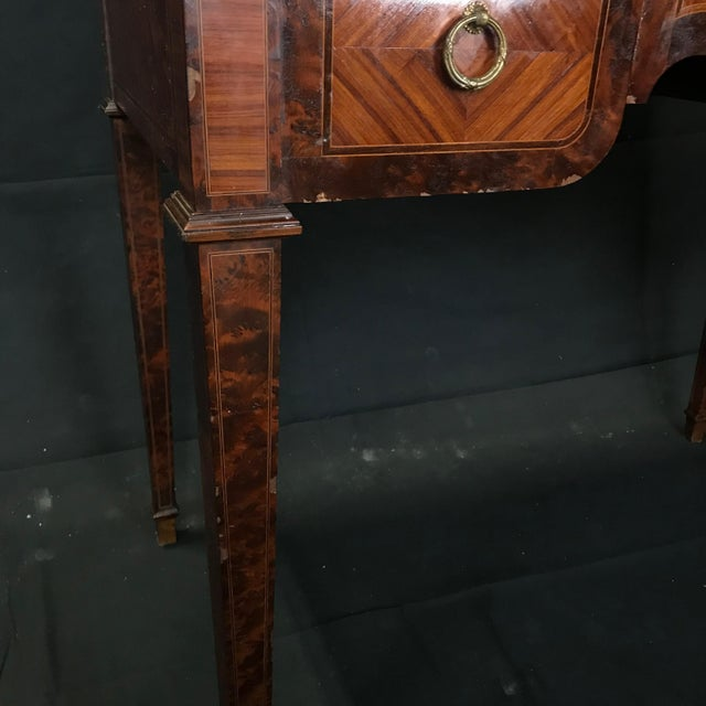 Antique 19th Century Louis XVI Cylinder Bureau Rolltop Desk For Sale - Image 4 of 8