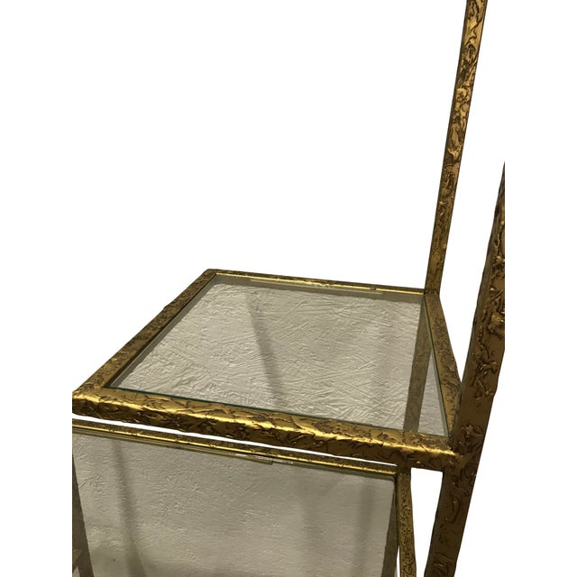 Gilded Etagere For Sale - Image 4 of 5