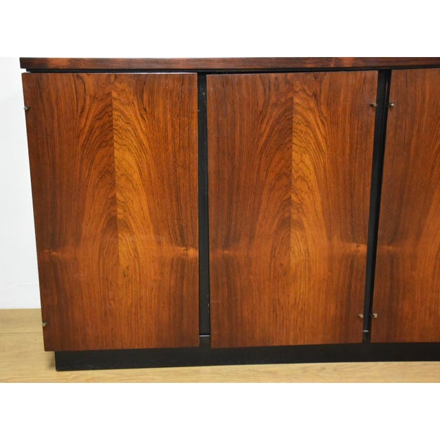 Red Rosewood Modern Credenza For Sale - Image 8 of 10