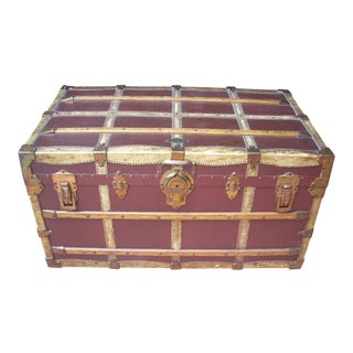 Henry Likly & Co. Antique Trunk For Sale