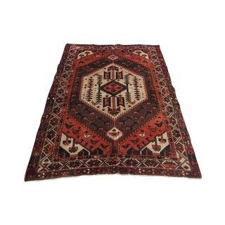 Vintage Persian Karache Serapi Rug - 5′3″ × 7′9″
