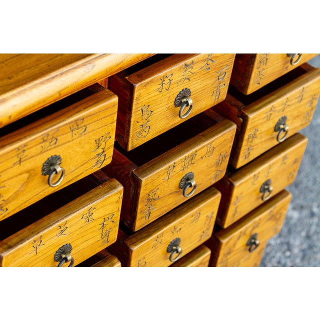 Chinese Elm Apothecary Dresser For Sale In Los Angeles - Image 6 of 9