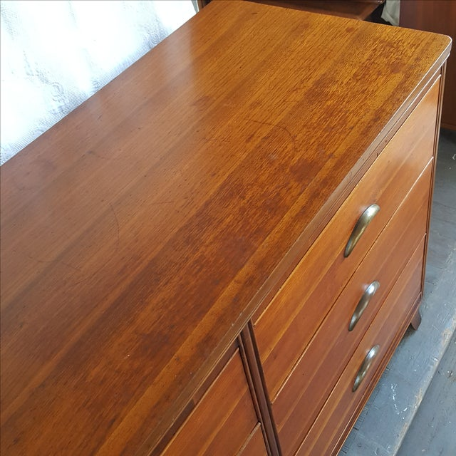 Mid-Century Transitional Antique Dresser - Image 5 of 5