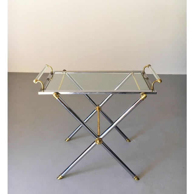 Vintage Maison Jansen Tray Table For Sale - Image 11 of 13