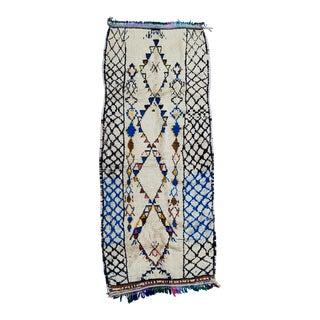 Vintage Azilal Wool Rug For Sale