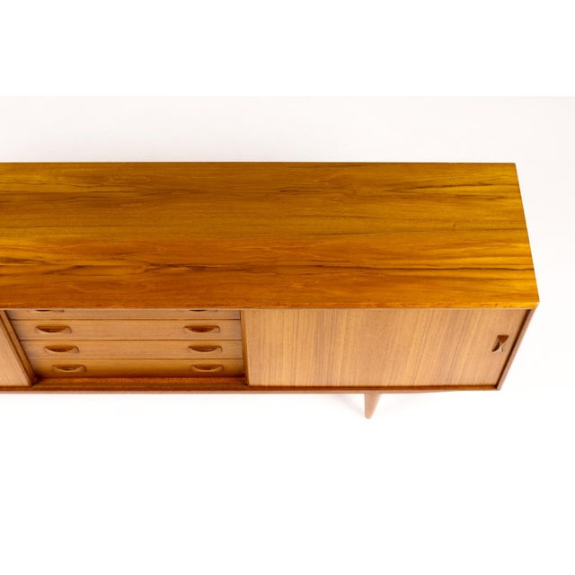 Clausen + Søn Mid Century Teak Credenza For Sale - Image 9 of 11