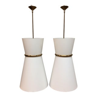 Visual Comfort Clarkson Pendants - A Pair