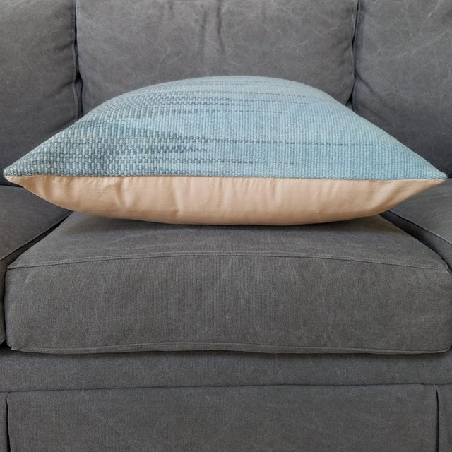 Vintage Geometric Turkish Rug Pillow - Image 5 of 6
