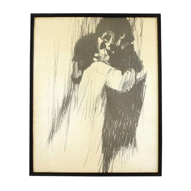 Young Lovers Framed Print - Image 2 of 3