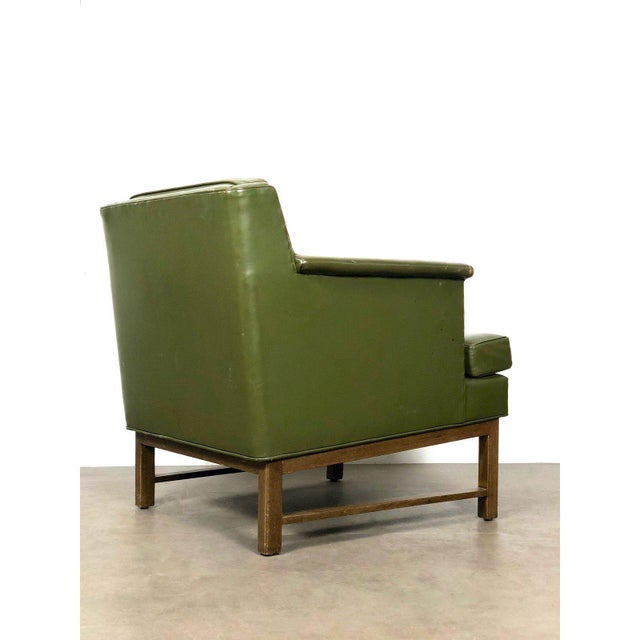 1950s 1950s Vintage Edward Wormley for Dunbar Petite Lounge Chair For Sale - Image 5 of 11