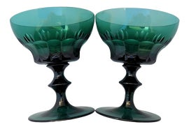 Image of Crystal Champagne Coupes