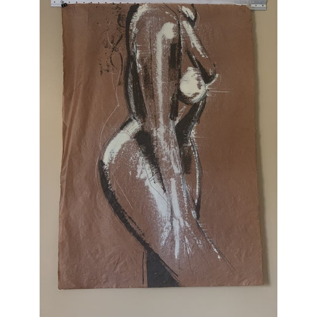 Abstract Greg Lauren Original Painting For Sale - Image 3 of 6