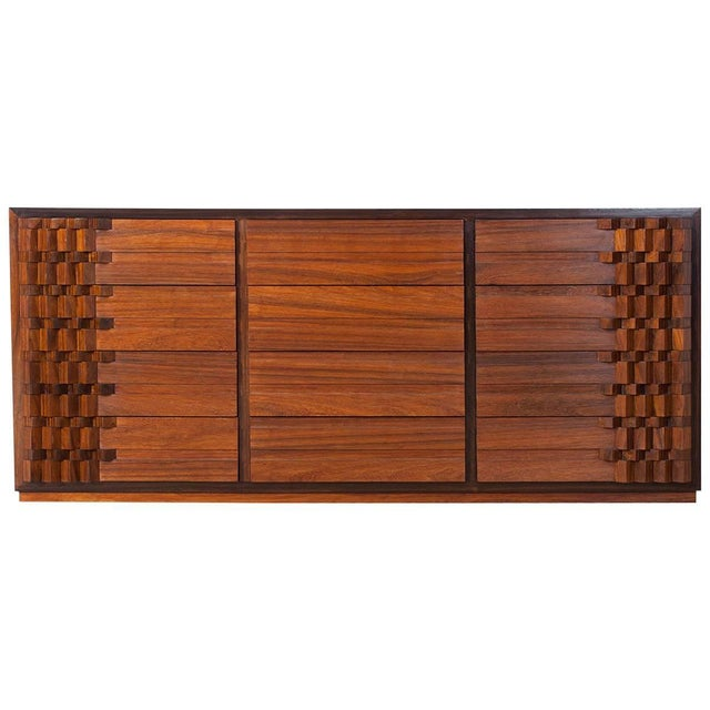 Luciano Frigerio Chest of Drawers in Walnut For Sale - Image 12 of 12