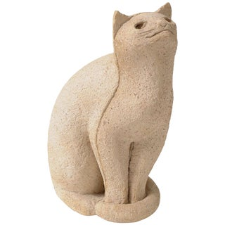 "Cat Sculpture ""Secrets of the 1970s"" For Sale"
