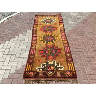Vintage Anatolian Runner Rug Preview