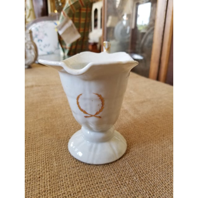 Chinese Export Helmet Form Creamer For Sale - Image 4 of 11