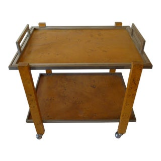a Willy Rizzo bar cart