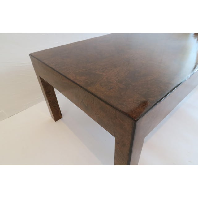 Vintage Burlwood Coffee Table - Image 5 of 6