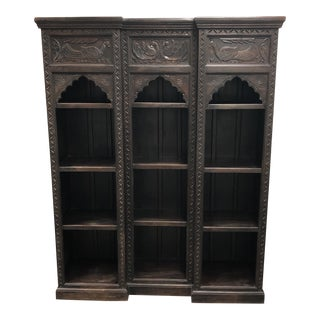 Gothic Revival Reproduction Bookcase