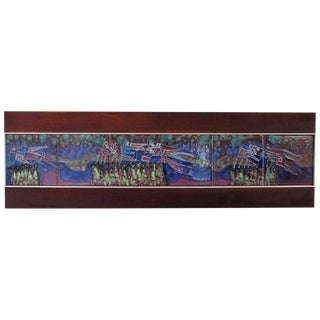 Harris Strong Vintage Tile Wall Art For Sale