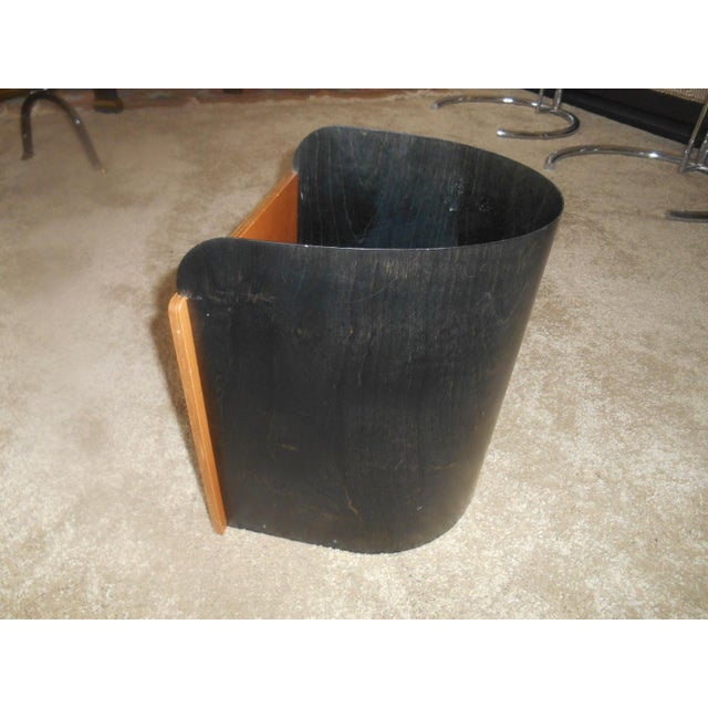 Awesome Mid-Century Modern Designer Giorgio Pizzitutti Milano Waste Basket Trash Can made in Italy. This trash can is made...