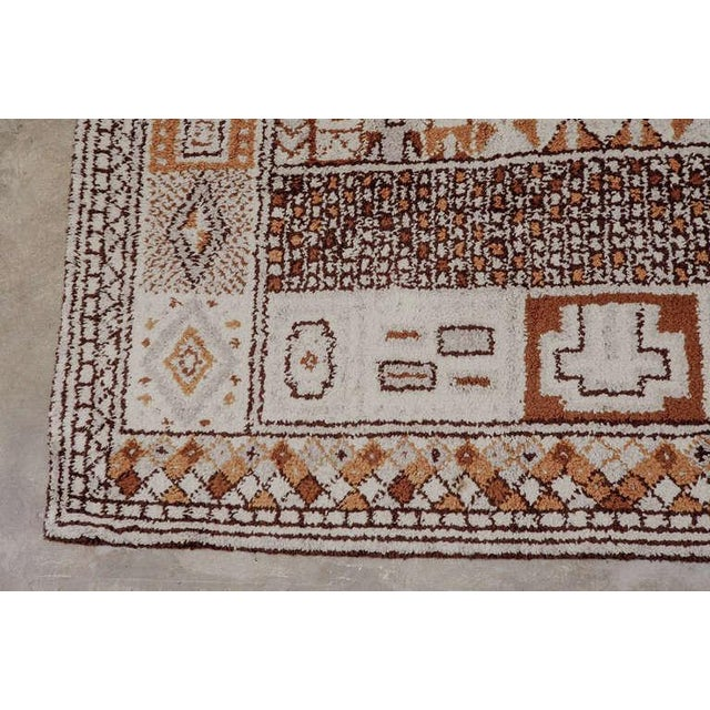 1950s Moroccan Style Portuguese Rug- 8′ × 10′ For Sale - Image 9 of 10