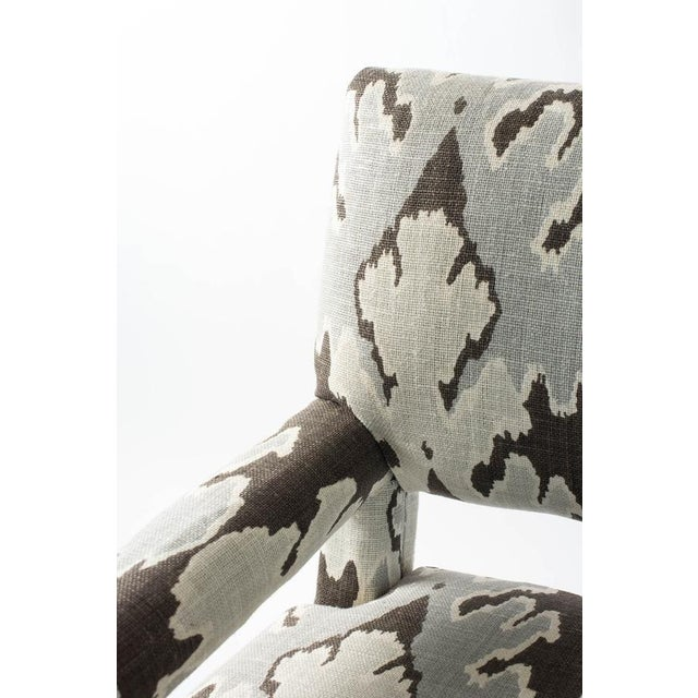Vintage Upholstered Parsons Chair For Sale - Image 4 of 5