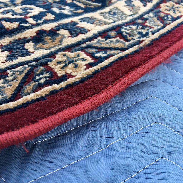 """Traditional Persian Floral Rug - 5'3"""" x 7'5"""" - Image 4 of 6"""