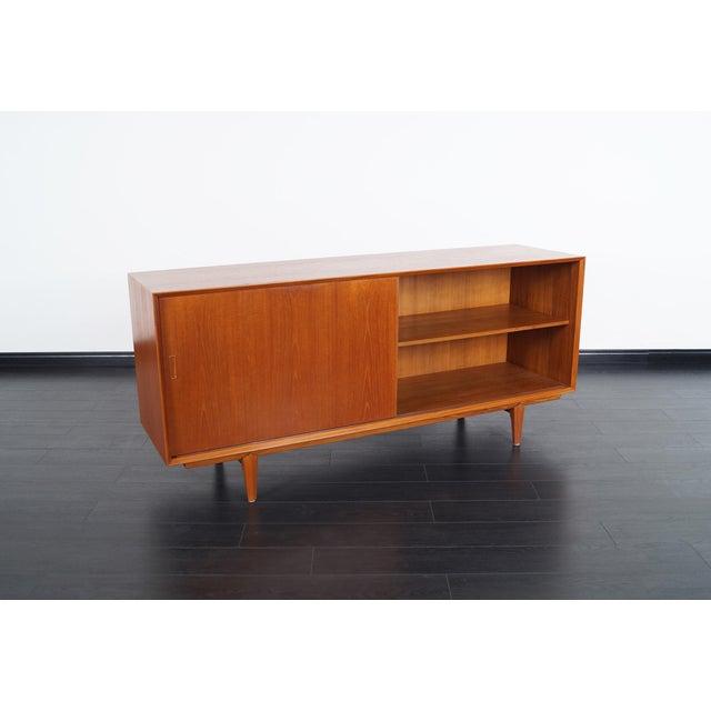 Dyrlund Danish Modern Teak Sideboard For Sale - Image 4 of 8