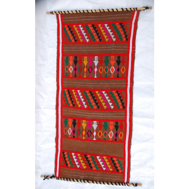 Mid Century Modern Multicolored Tapesty - Image 3 of 7