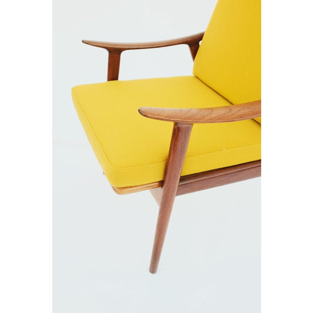 1950s Danish Modern Fredrik A. Keyser for Vantne Lenestolfabrikk Lounge Chair For Sale In Seattle - Image 6 of 11