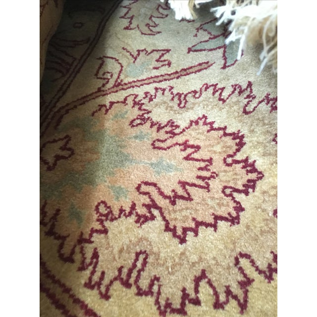 Vintage Hand-Knotted Rug - 10′ × 14′ - Image 4 of 4
