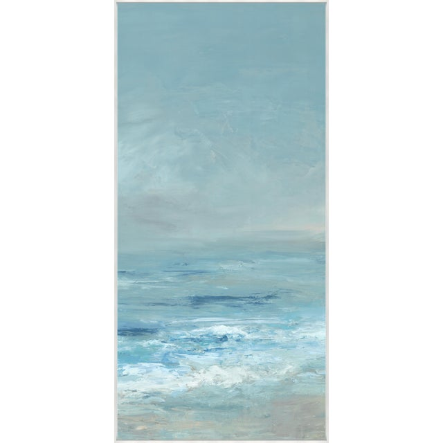 Kenneth Ludwig Print on Canvas, Ocean Blue II by Barclay Butera For Sale