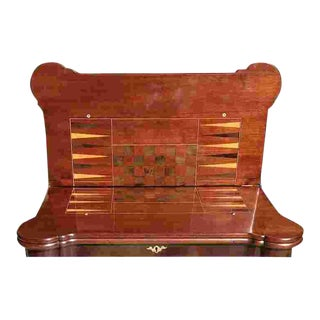 18th C. George II Game Table For Sale