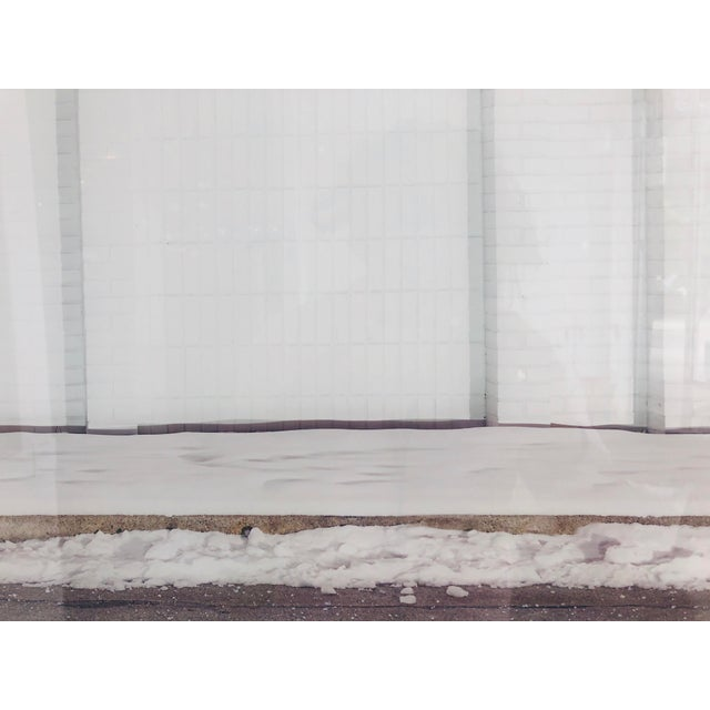 Contemporary Urban Storefront Plexi Mounted Photograph For Sale - Image 4 of 13