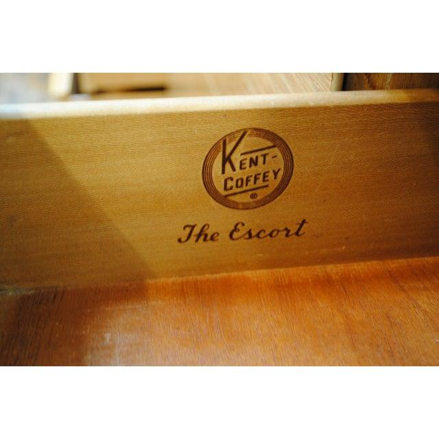 "Kent Coffey Mid-Century Kent Coffey ""Escort"" 9-Drawer Dresser For Sale - Image 4 of 9"