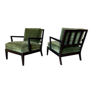Billy Haines Style Lounge Chairs - a Pair For Sale