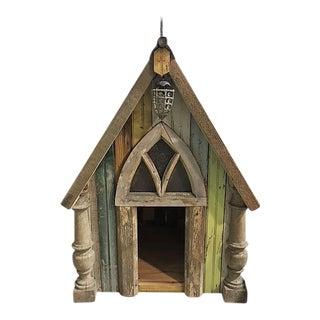 Antique Wood Dog House