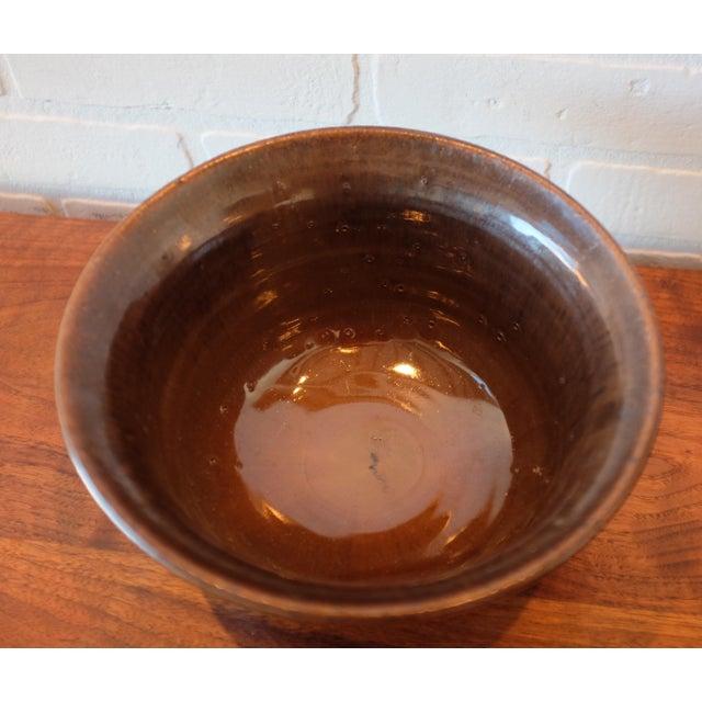 Signed Handmade Studio Pottery Ceramic Decorative Bowl - Image 2 of 4
