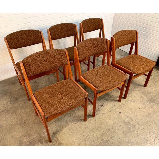 Danish Modern Dining Chairs by Artfurn, Denmark For Sale - Image 4 of 13