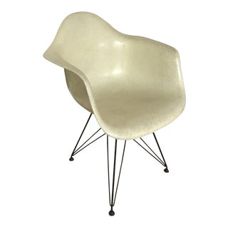 Eames Fiberglass Armchair For Sale